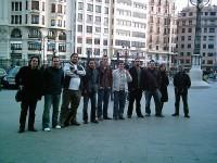 Reunion Valencia 4: no, no estan posando